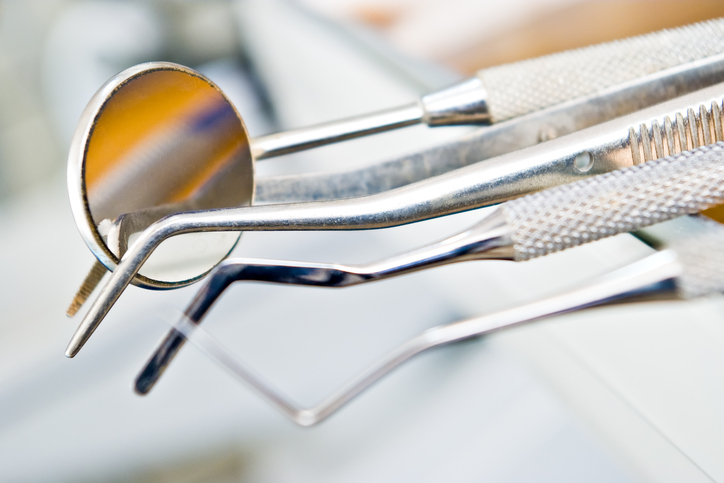 Some of the dental tools used in the Multiple Tooth Extraction process in Spokane WA
